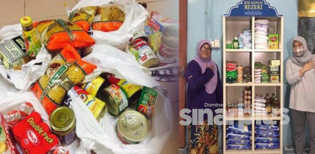 PKPB: Wanita Kudat bantu golongan memerlukan dengan 'Rak Kongsi Rezeki'