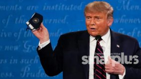 """Jangan takut pada jangkitan Covid-19, kita ada penawar"" – Donald Trump"