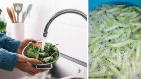 Tidak digalakkan cuci sayur, buah dengan sabun atau sebarang produk khas