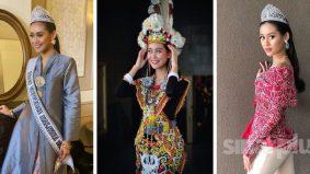 """Gaya baju cantik rasa lebih yakin, lebih positif "" – Miss Universe Malaysia 2020"