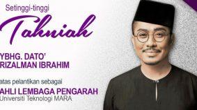 Datuk Rizalman Ibrahim dilantik Ahli Lembaga Pengarah UiTM
