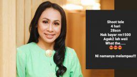 Tawaran tak masuk akal, Nazia Mustafar luah rasa kecewa