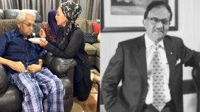 Bapa mertua Noryn Aziz meninggal dunia