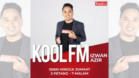 Izwan Azir kini bergelar penyampai di Kool FM