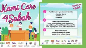 Kami Care 4 Sabah, stesen radio bergabung bantu penduduk terjejas
