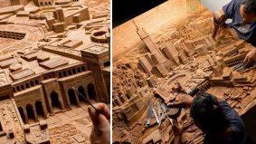 Subhanallah! Cantik dan kreatif si pengukir kota Mekah ini