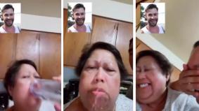 [VIDEO] Tersenyum sampai tersembur air kerana teruja dapat bercakap artis pujaan tetapi rupanya...