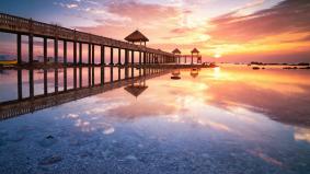 Tanjung Balau indah dan mendamaikan