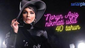 Noryn Aziz nikmati usia 40 tahun