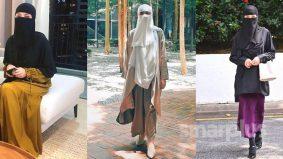 Neelofa berniqab, boleh beza antara purdah dan burqa