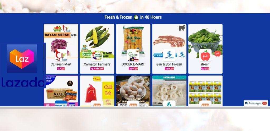 PKPB masa terbaik beli barang dapur, frozen, penjagaan bayi, pelitup muka secara online di Lazada