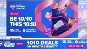 Festival Jualan Lazada 10.10 lebih mengancam, diskaun hingga 90 peratus tu…macam-macam ada
