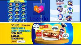 PKPB masa terbaik beli barang dapur, frozen dan macam-macam lagi secara online di Lazada