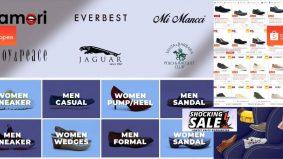 Rebut peluang miliki kasut berjenama wanita dan lelaki hanya RM1 di Shopee esok…