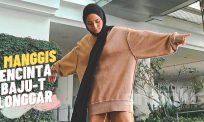 Cik Manggis pencinta stail baju-T longgar