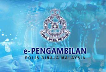 Pengambilan Konstabel Polis Gred YT1 (Lelaki) kini dibuka sehingga 30 November
