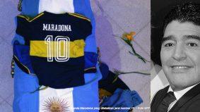 Pekerja rumah mayat dibuang kerja gara-gara selfie jenazah Diego Maradona