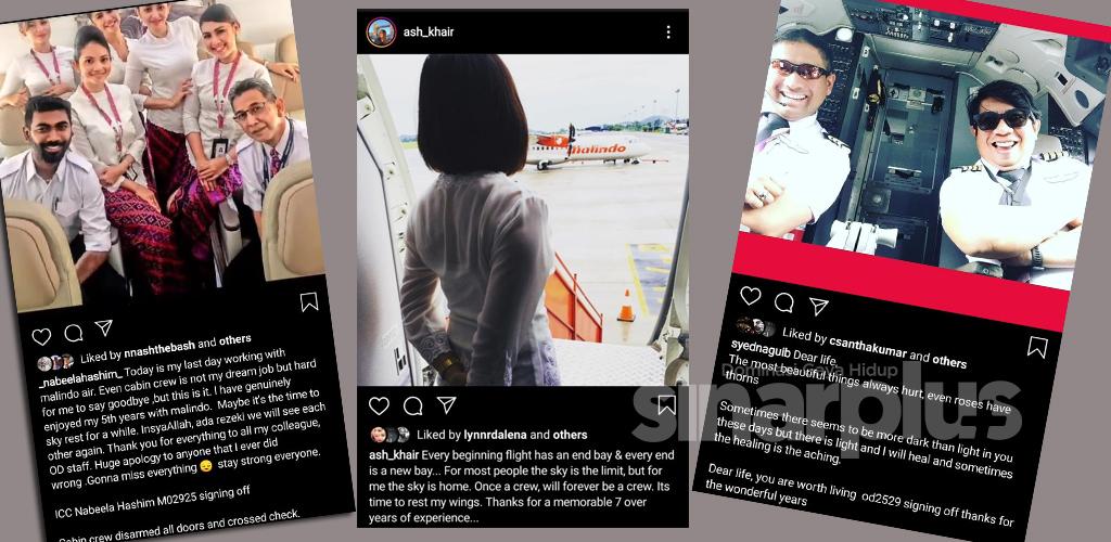 (11 GAMBAR) 'Signing off' krew Malindo trending, 'Stay Strong' ujar warganet