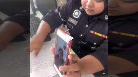 [VIDEO] Anggota polis gigih cari jurubahasa bantu OKU buat laporan dipuji