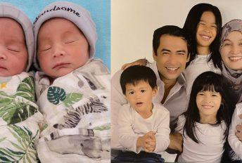 Cukup seminggu kelahiran kembar sepasang, akhirnya Eusoff dan Emelia jadi pilihan