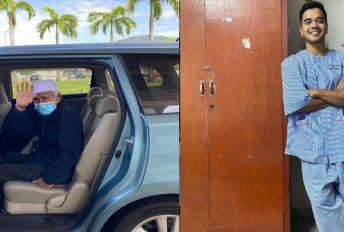 Datuk Alif Satar sudah dibenarkan pulang setelah rawatan Covid-19