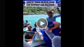[VIDEO] Bot Ardell diserbu ketika sampaikan misi bantuan di Sabah