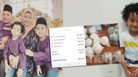 'Tomyam 12 pek, 4 sup daging' - Ibu terkejut kena caj lebih RM200, anak 4 tahun pesan menu online