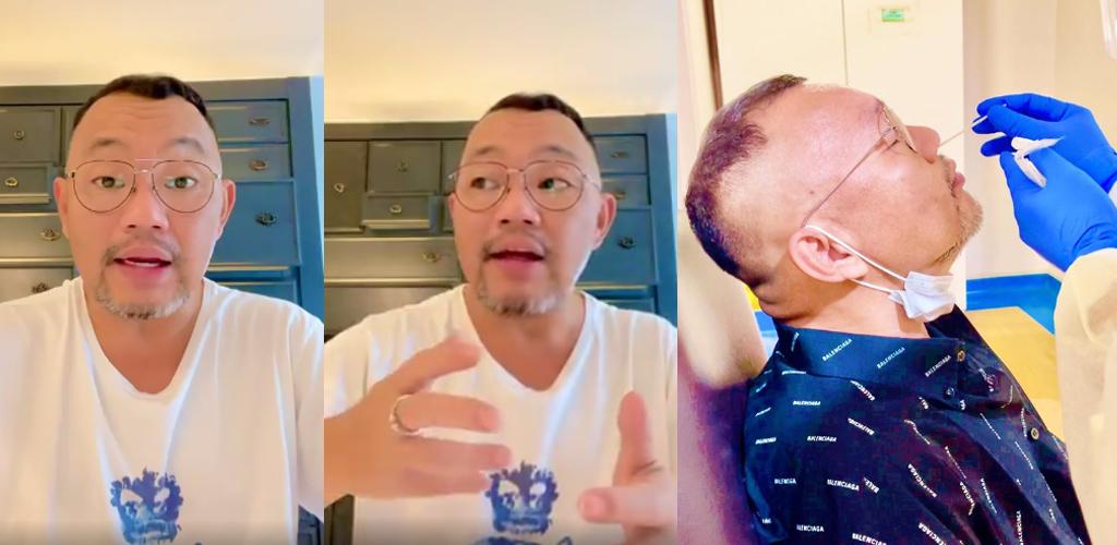 """[VIDEO] """"Bila orang terdekat positif, barulah sedar diri benda ni real"""" - Michael Ang"""