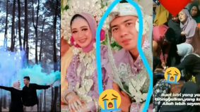 [VIDEO] Sedihnya! Baru tiga hari bernikah, suami meninggal dunia