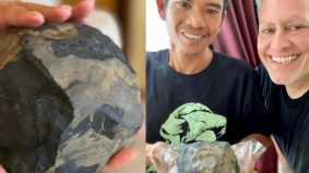 Pembuat keranda bergelar jutawan sekelip mata gara-gara batu Meteorit