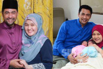 Isteri Dr Sheikh Muszaphar selamat bersalin anak kembar lelaki dan perempuan