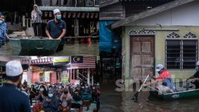 """Sedihnya tengok ada yang sebak dan menangis, berat ujian mereka"" – Ustaz Ebit bantu mangsa banjir"