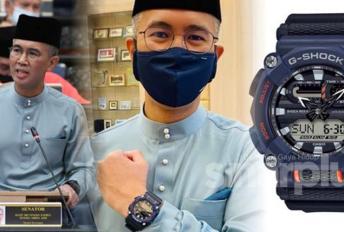 G-Shock 'Mat Motor Analog' bertukar menjadi 'Jam Belanjawan 2021' gara-gara Tengku Zafrul