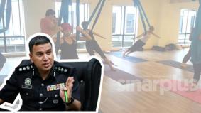 Pertikaikan tindakan polis dan tak patuh SOP, 9 peserta kelas yoga dikompaun RM1,000