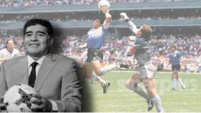 Selamat tinggal 'hand of god', ini kisah Maradona dalam dunia bola sepak