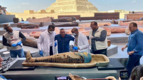 100 keranda berisi mumia, 40 patung emas dijumpai dalam keadaan masih kukuh