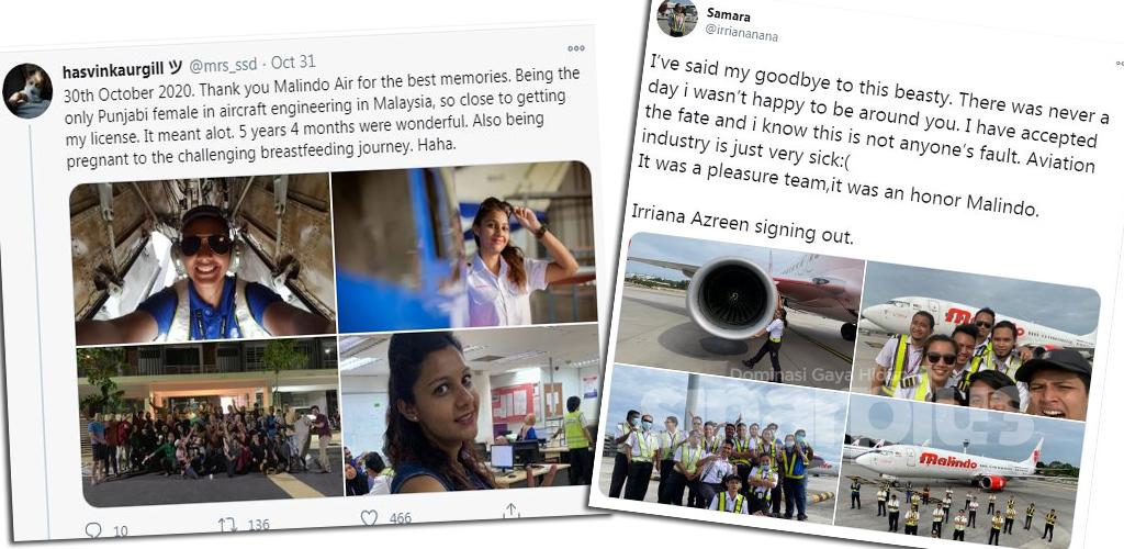 (12 GAMBAR) 'Signing off' krew Malindo trending, 'Stay Strong' ujar warganet