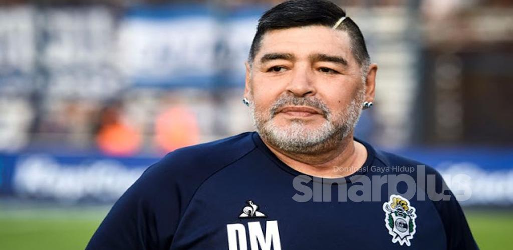 Selamat tinggal'hand of god', ini kisah Maradona dalam dunia bola sepak