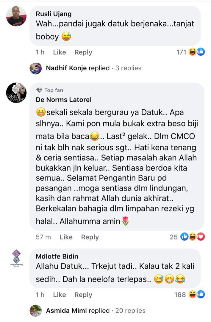 Kecoh Erra Fazira nikah, warganet terhibur sisi lucu Menteri Agama