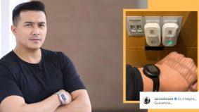 Ziarah ibu sakit di Singapura, Aaron Aziz jalani kuarantin selama tujuh hari