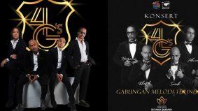 Konsert 4G's diteruskan 11&12 Disember ini