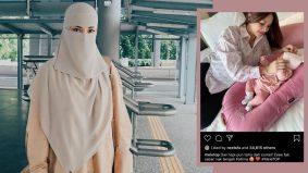 Neelofa 'like' foto anak Fatzura, peminat tumpang gembira