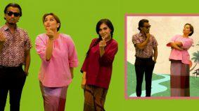 Empat Dara 2020: Faizal Tahir, Zizi Kirana sahut cabaran Kak Lina Pom Pom