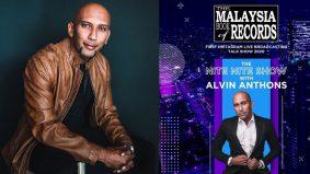 Alvin Anthons terima pengiktirafan Malaysia Book Of Records