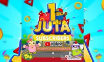 Hebat! Didi & Friends versi Bahasa Indonesia cecah 1 juta langganan YouTube!