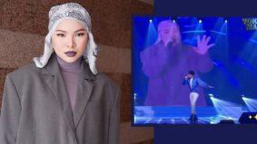Vokal Mania - Aina Abdul buat persembahan dari rumah