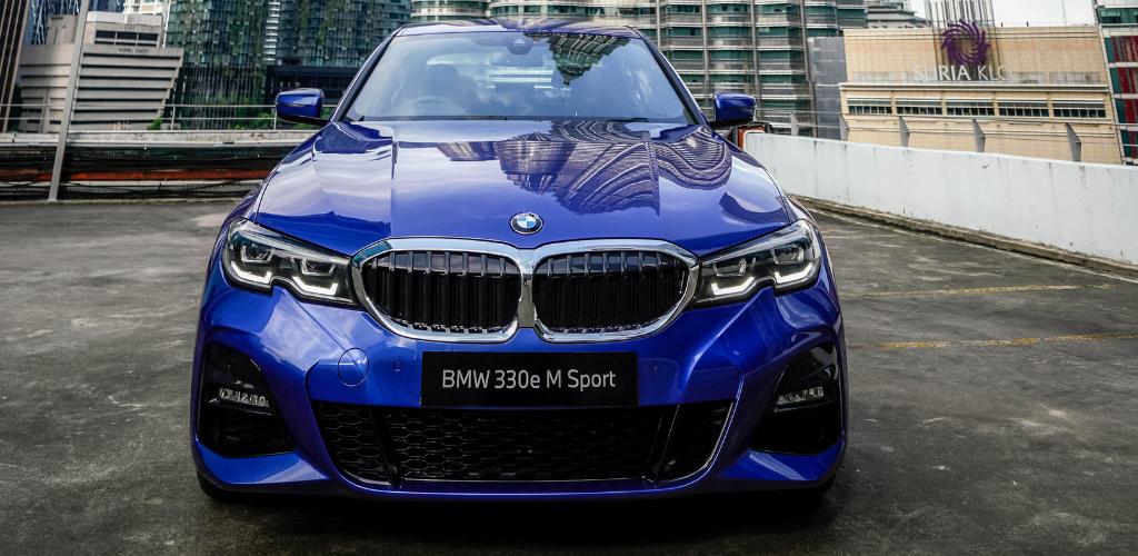 BMW 330e M Sport dengan teknologi eDrive mesra alam