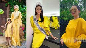 Wanita Malaysia tak berani pilih warna kuning. Ini penjelasan pereka fesyen Rico