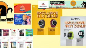 Big Bad Wolf dan Garmin tawar harga luar biasa sempena Mega Sales 11.11