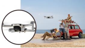 Memang 'power', dron DJI Mini 2 berat cuma 249 gram dilengkapi teknologi canggih